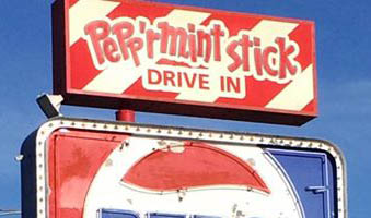 PEPP'RMINT STICK DRIVE-IN